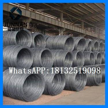 Heibei gavanized  Q235 wire rod 6.5mm