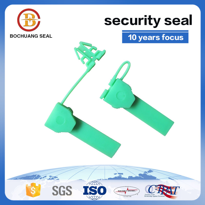 plastic arrow security meter seal anchor with series numbers M206