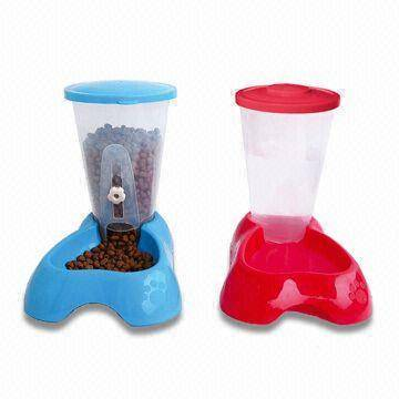Combination Pet Feeders with 800g Bowl and 500mL Capacity Water Bottle-1