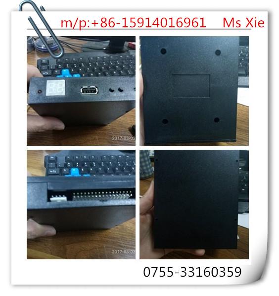 1.44 MB floppy disk interface to USB port industrial control simulation FDD turn USB floppy drive (U