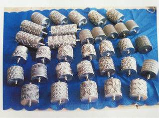 Sliver Pattern Roller Weaving Machine Parts Steel Ues In Gloves / Masks / NonWoven Bags