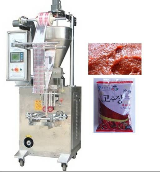 Chilli sauce curry paste vertical packing machines