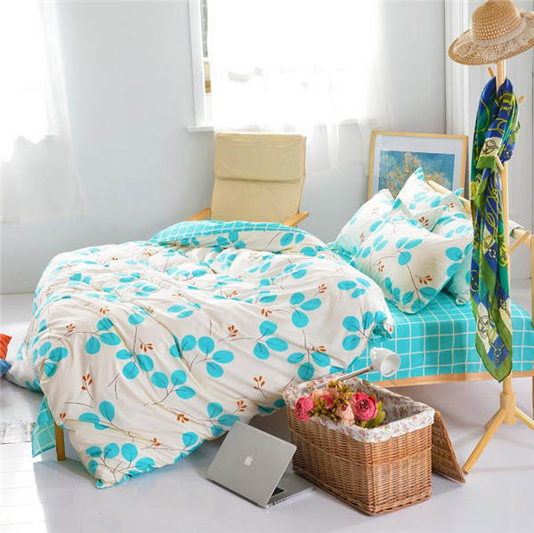 home China wholesale polyester bed sheet duvet cover