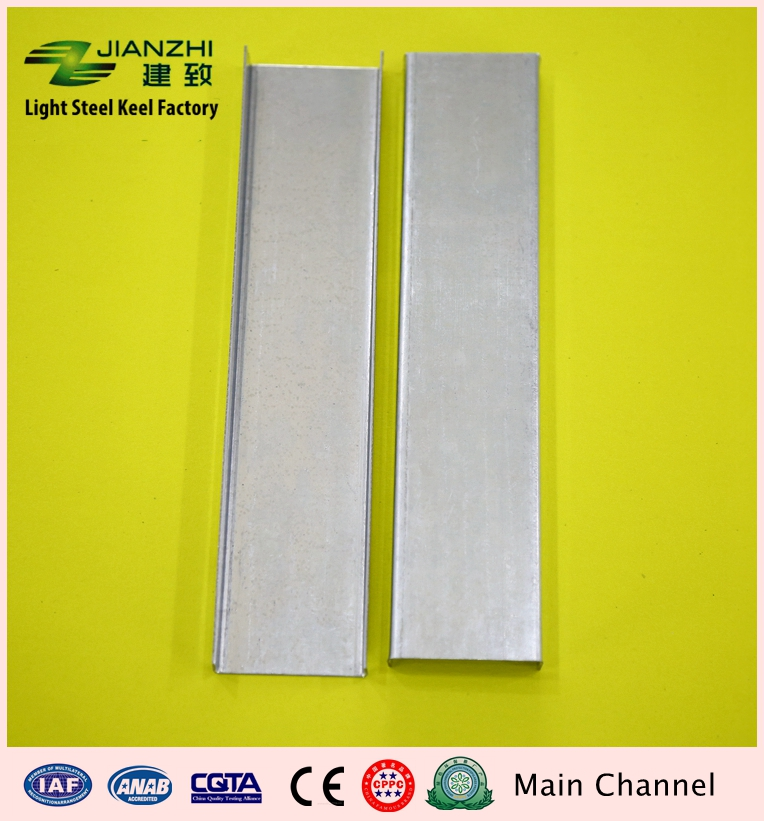 China trusted factory oem galvanized steel light steel keel for ceiling and partition system