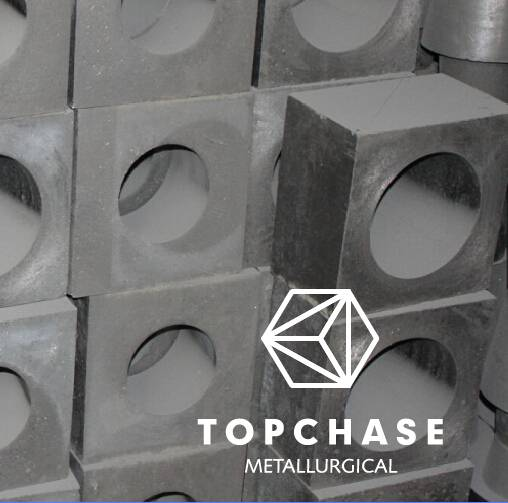Tundish well block for continous casting(alumina-magnesia-carbon Brick)