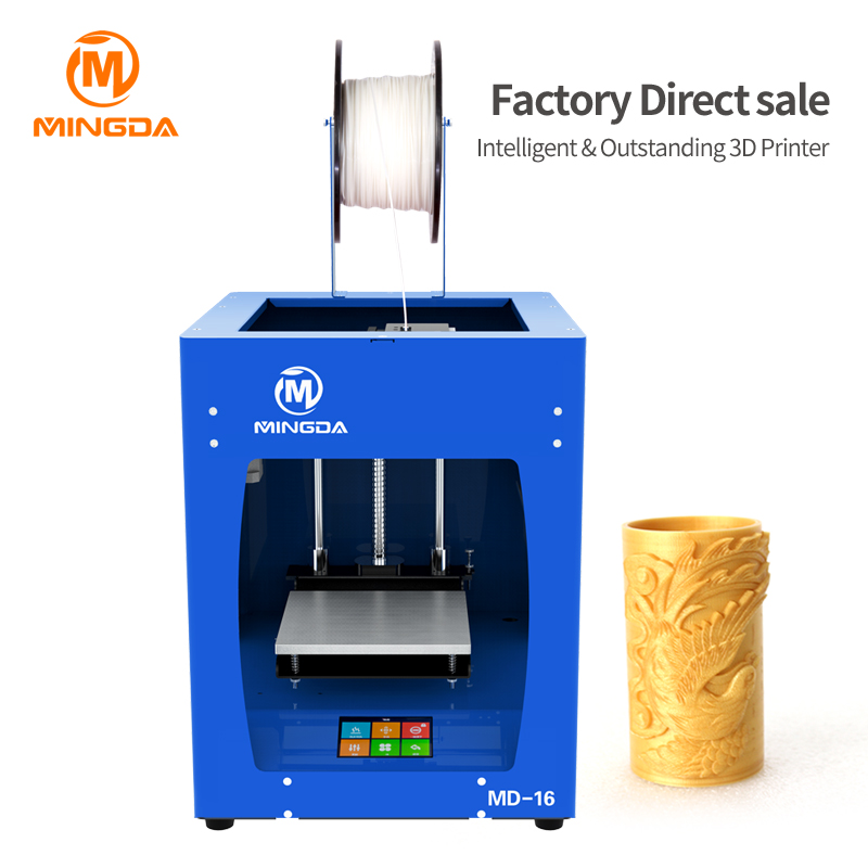 3.5 inch LCD screen 3d printer machine for sale factory direct sale super silent printing 3d printer