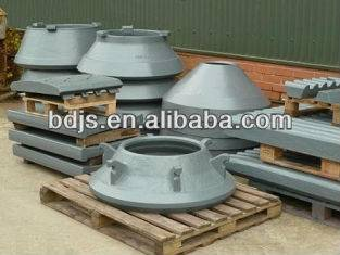 nordberg cone crusher  wear parts metso hp200 bowl liner