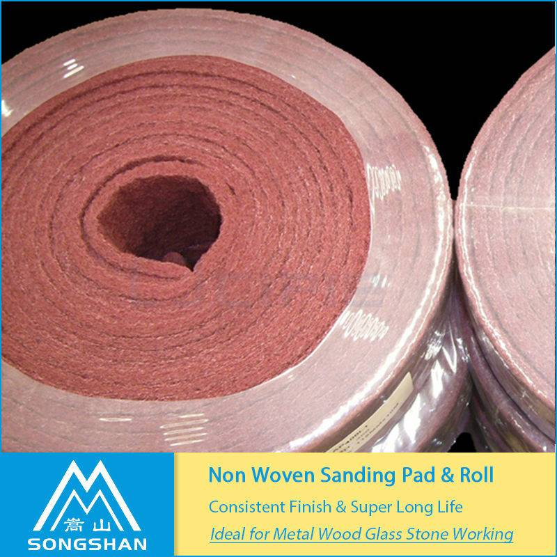 factory non-woven material abrasive jumbo roll