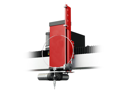 5 axis water jet cutting machine