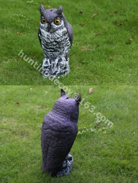 hunting decoy owl decoy garden decoration