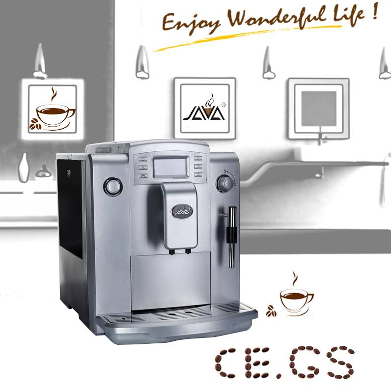 WSD18-010B JAVA Fully Auto Espresso Coffee Machine for home,hotel use