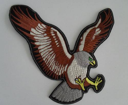 Eagle embroidery patches