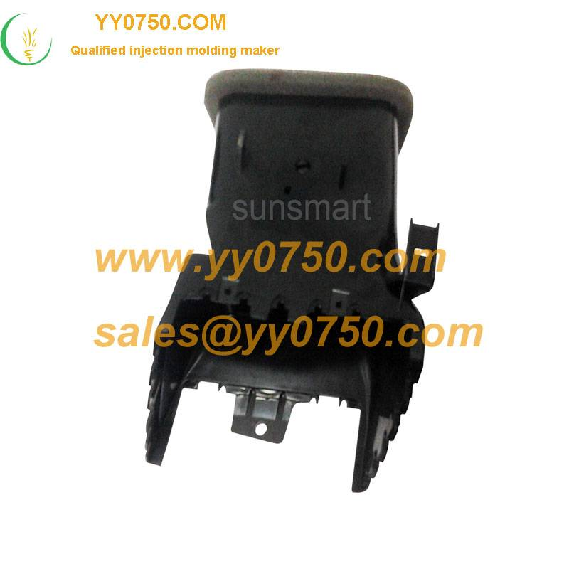 China made plastic auto air outlet casing