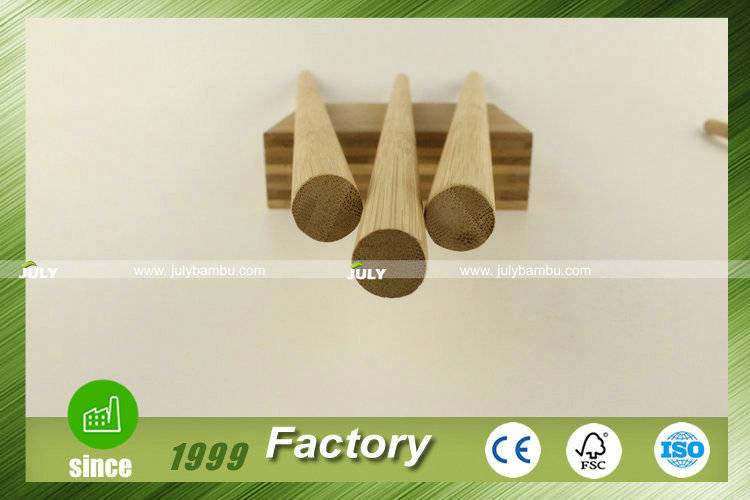 Professional bamboo dowels 15mm for furniture