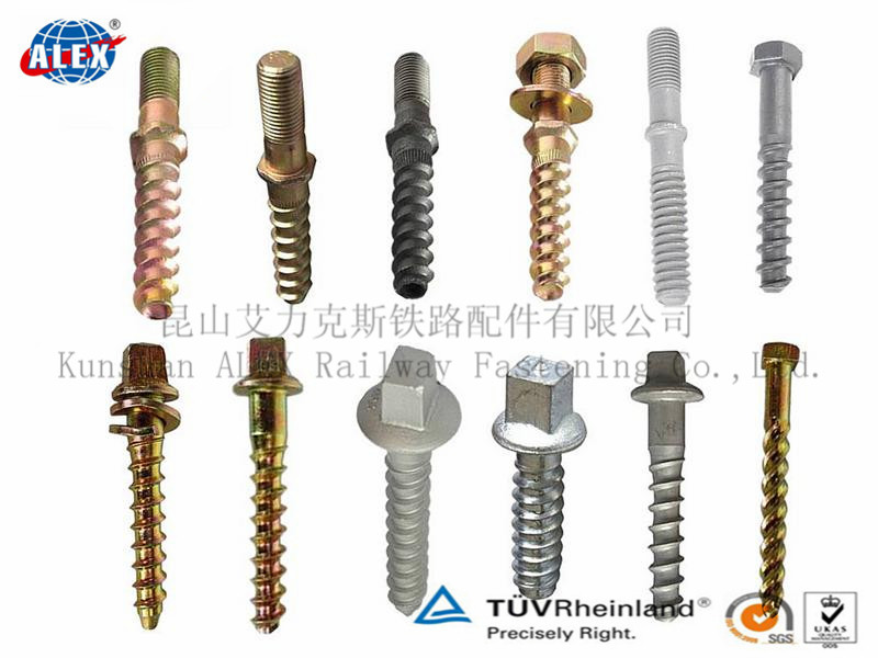 Railway Rail Train Rail Screw Spike