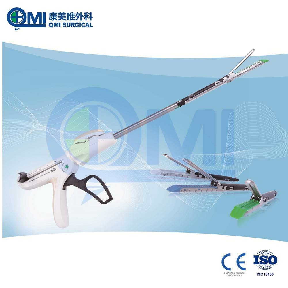 QMI-Rich experience in manufacturing Endoscopic Surgica Disposable Linear Cutter Stapler For Bariatr