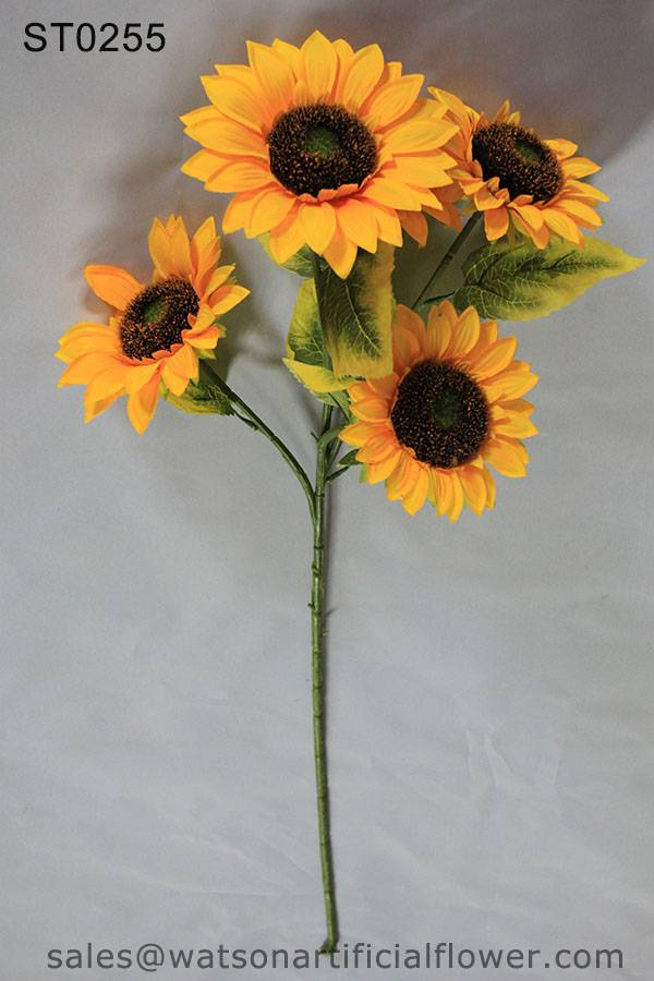 artificial sunflowers