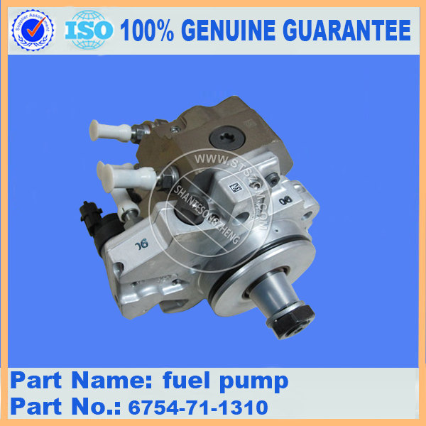Komatsu excavator part PC200-8 fuel pump 6754-71-1310