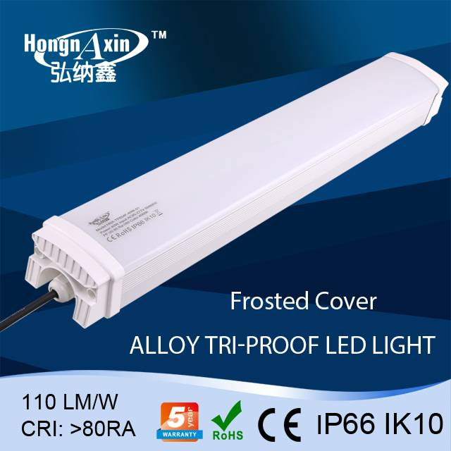 led light source smd waterproof ip66 20w 2ft 600mm tri-proof led tube