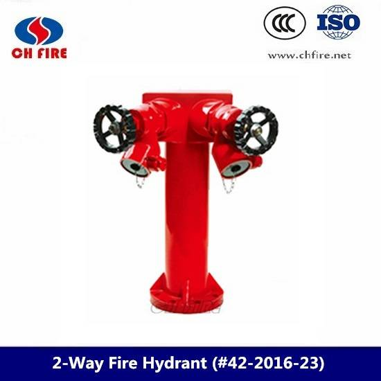 Upright Pillar Fire Hydrant