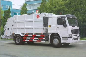 Sinotruk Howo Garbage Compactor Truck For Sale