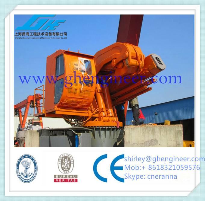 3.5T/8.0M Hydraulic Knuckle Boom Marine Crane