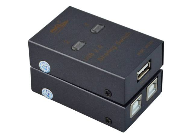 USB auto Sharing printing switcher 2 Port  USB cable  shenzhen manufacturer