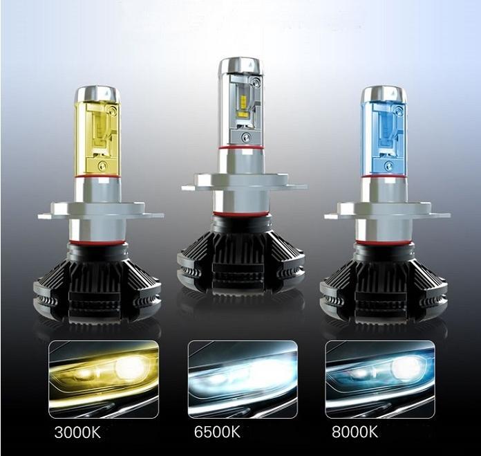 Best sellers car led headlight bulbs cool light with fanless lamp