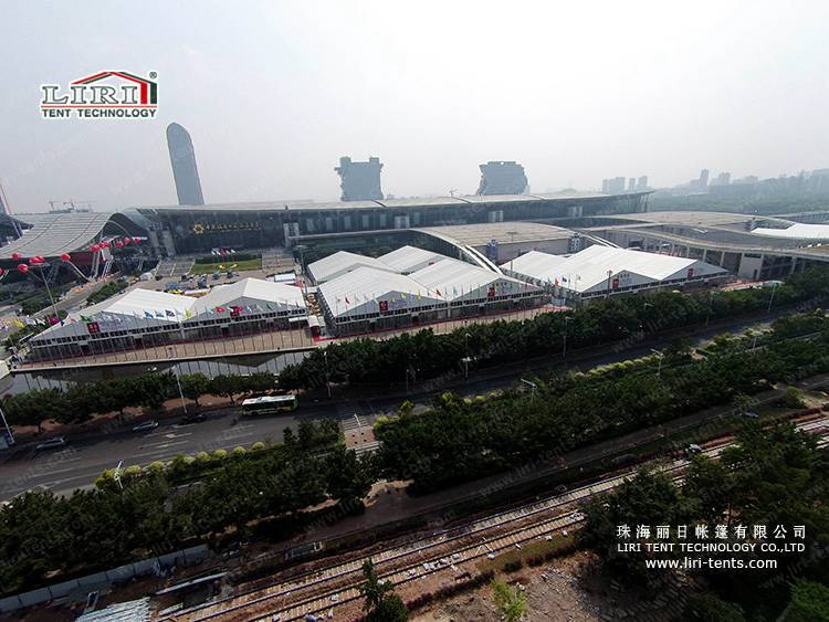 High Quality Trade Show Tent Used In Canton Fair