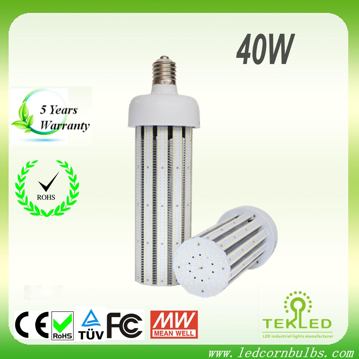 E26/E27/E39/E40 40W LED corn bulb light