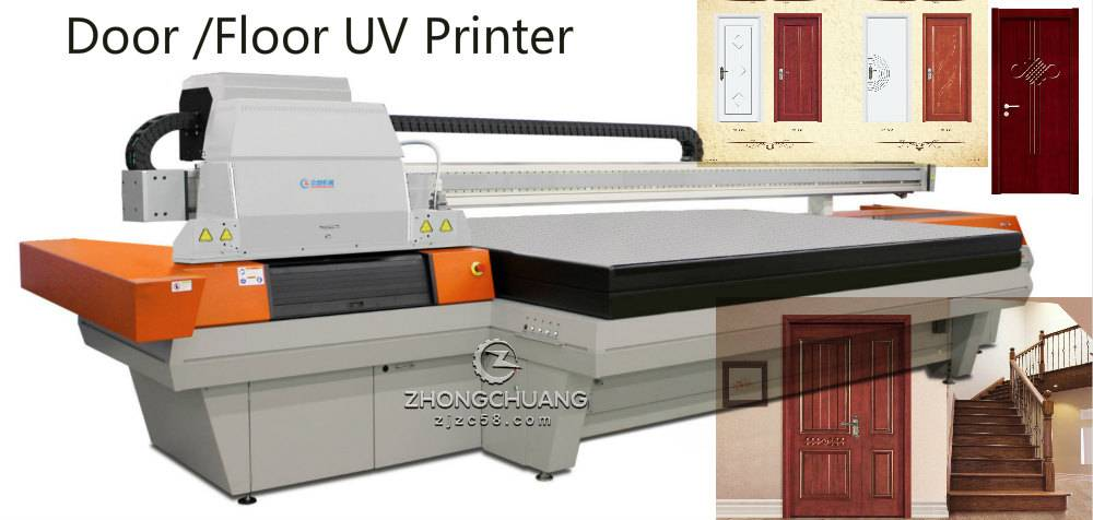 wood printing machine uv flatbed printer