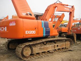 SELL USED HITACHI EXCAVATOR EX200-2
