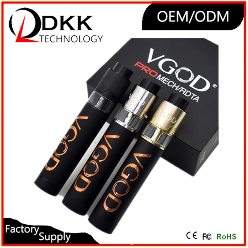 2017 best quality mod VGOD Pro Mech Mod/ VGOD trick tank