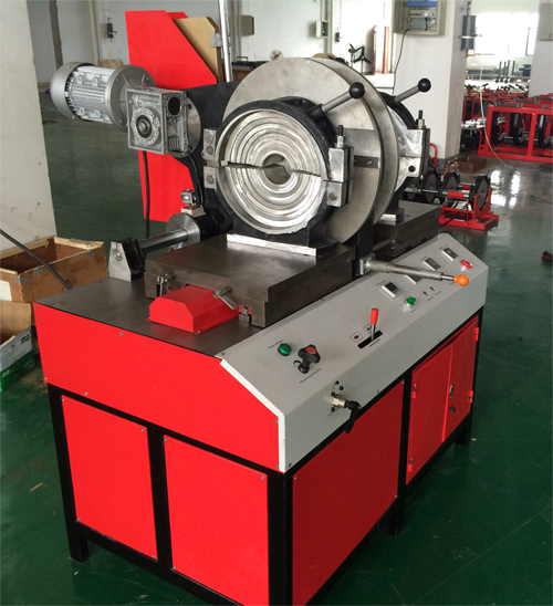 TSD315G workshop fitting machine to welding elbow fitting