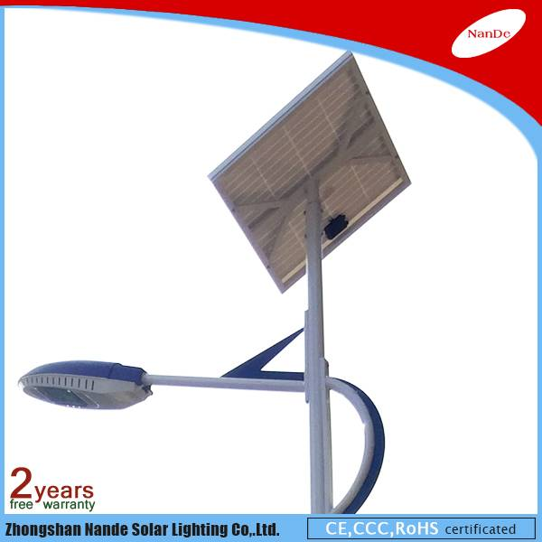 high quality 20-150W solar street LED light