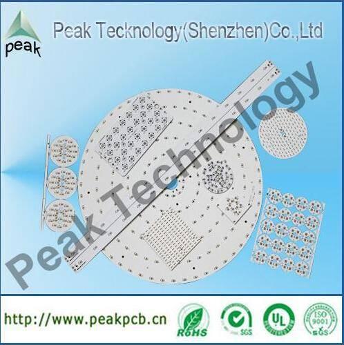 single layer led pcb, OEM aluminum pcb manufacture for led