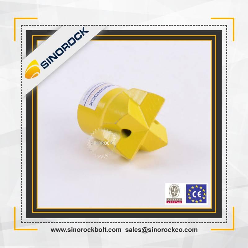SINOROCK self drilling hollow cross rock drill bit