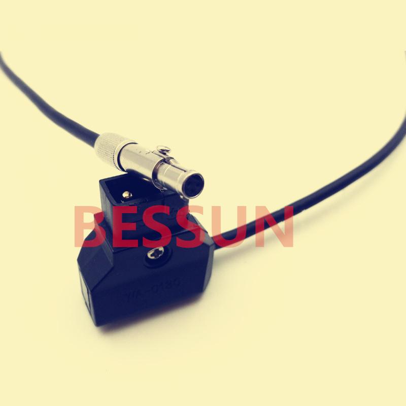 Original NSC3F / Neutrik plugs,Odyssey 7Q monitor power line, 3 pin plug to D-type plug, Long 1M