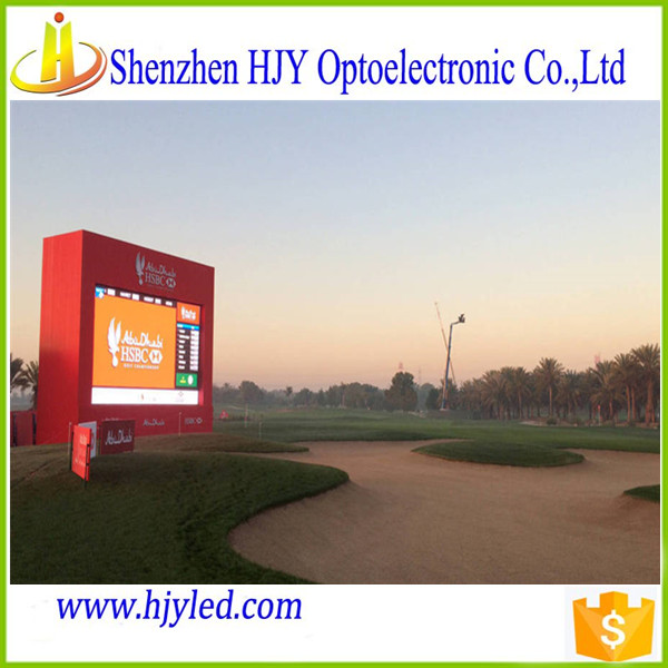 Good quality advertising wall led screen p6 outdoor full color led display