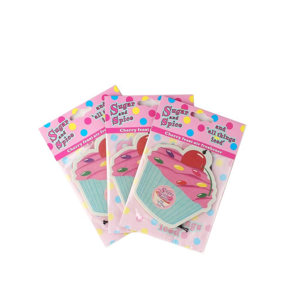 promotional gift paper air freshener for cars,fragranced paper air freshener with custom shape