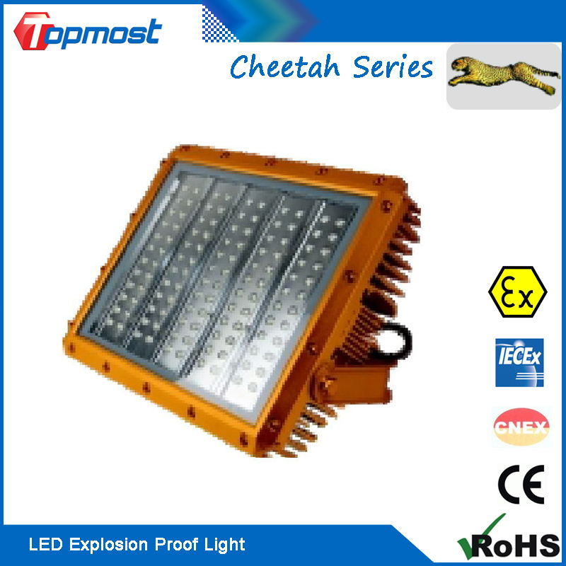 ATEX IECEX Approved 240W LED Explosion Proof Lights for Hazard Area