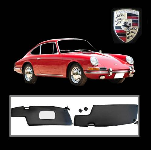 Porsche 911 F-Model and 912 Sun Visors