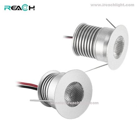 mini led spotlight, led cabinet light, 25degree, IP42, 3W