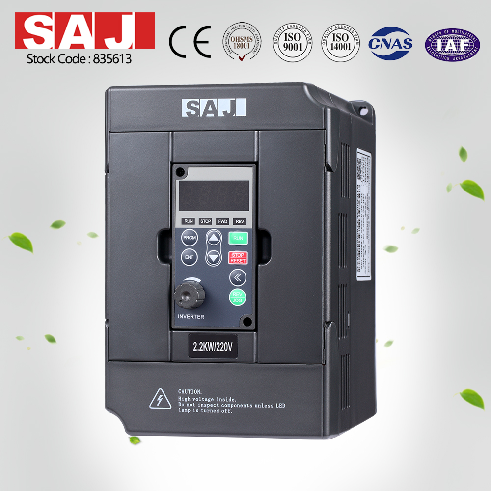SAJ Classsical Frequency Converter Single phase 220V input/Three
