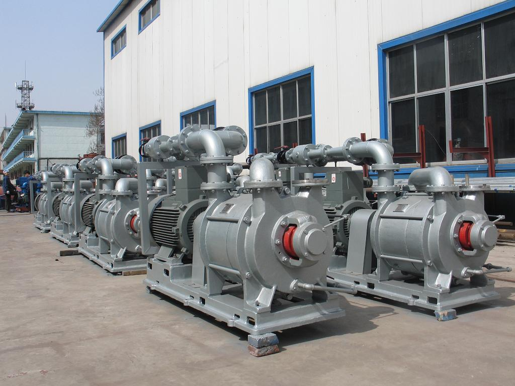 2EK series two-stage liquid ring vacuum pumps