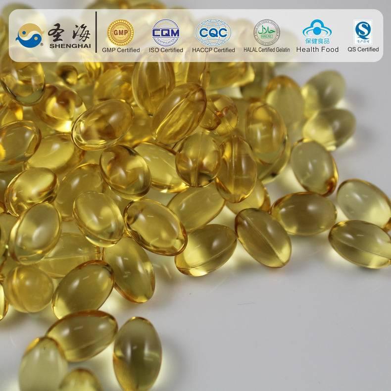 Health Food wheat germ oil soft capsule anti-oxidation