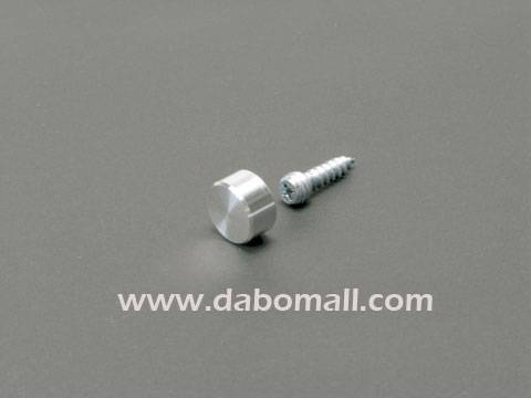 Aluminium Caps standoff, special screw