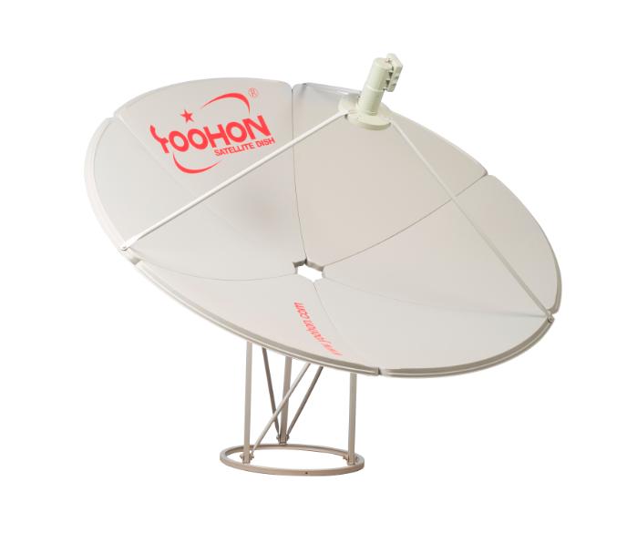C Band Dish Antenna 150cm Ku Band Satellite Antenna