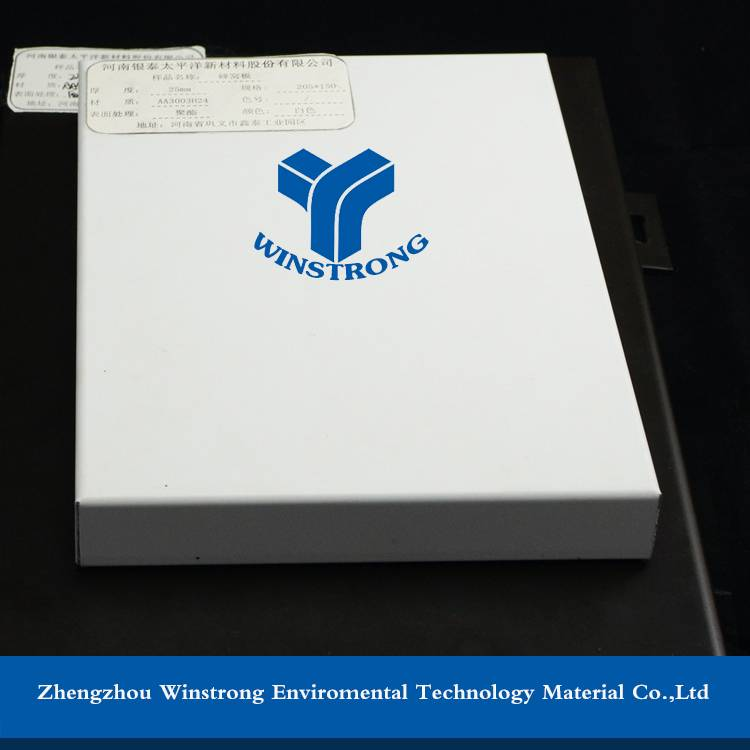 PE coating Insulated Aluminium Honeycomb Sheets/Panel/Board Supplier