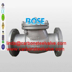 DIN 1.0619 flange check valve